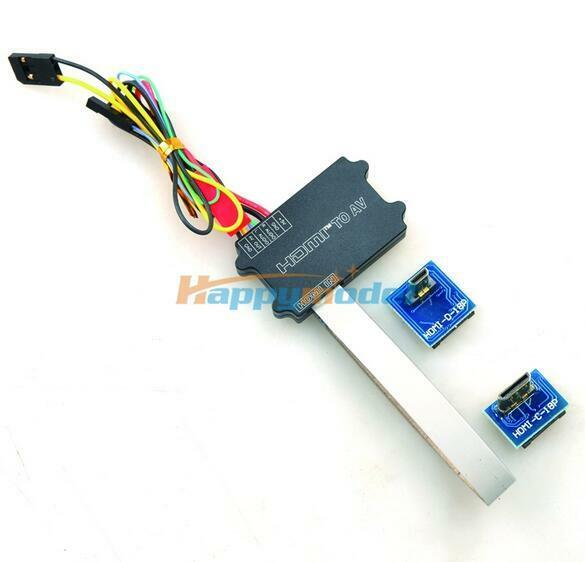 Universal FPV HDMI to AV Converter w/Mini HDMI & Micro Interface GH3 4 5D NEX A7