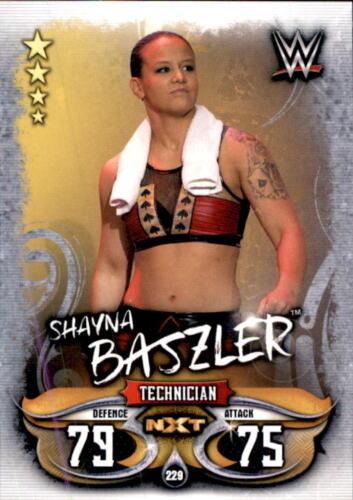 Topps Slam Attax Live-Carte 229-Shayna baszler-NXT
