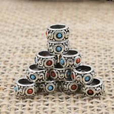 Tibetan Silver Spacer Beads Jewelry Findings Making Necklace Bracelet DIY Charm