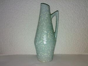 Vase-Kanne-Scheurich-hellblau-271-22-WGP-50s-60s-271-Shape-H-23-cm-LOOK