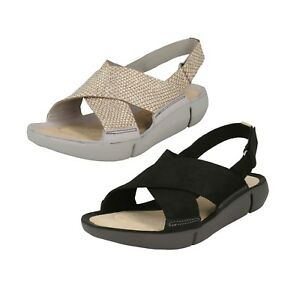 Details zu Ausverkauf Damen Clarks Sandalen Tri Chloe Sling Sandalen