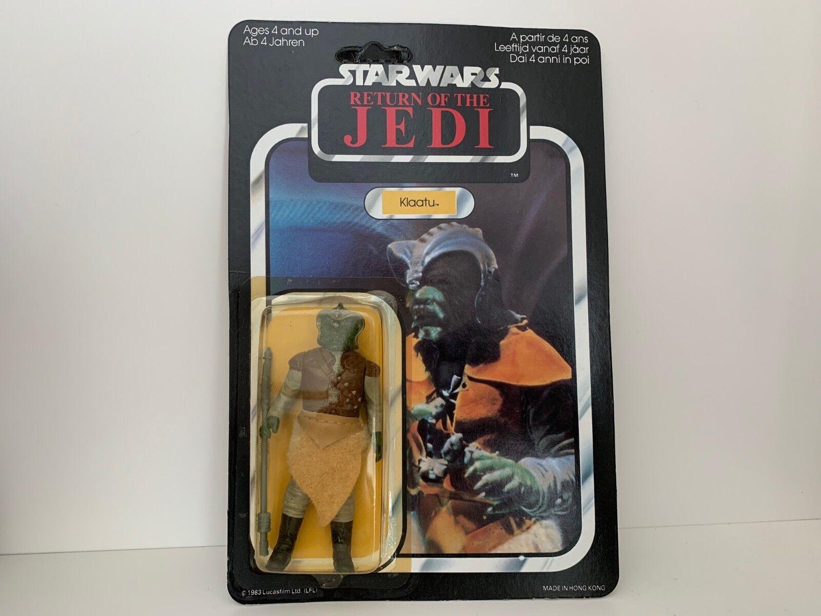 Original De Star Wars Vintage 2018 Rotj Palitoy 65 Back ENLOMADOR HK Klaatu