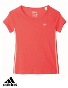 Adidas-Performance-Junior-Filles-YG-ESS-M-Tee-T-Shirt-BNWT-livraison-gratuite-AY9030