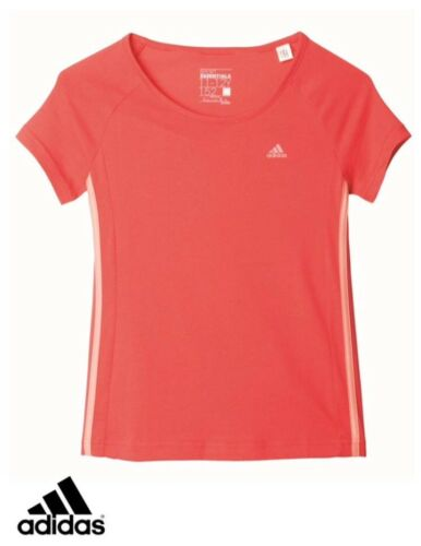 adidas performance Junior Girls YG ESS M Tee T Shirt BNWT Free uk deliver AY9030