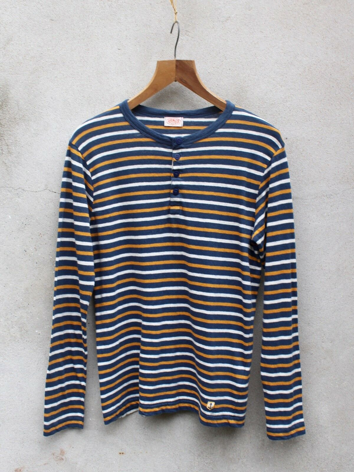 Tunisini Breton Top Da Armor-LUX - 100% LINO COTONE-Made in France