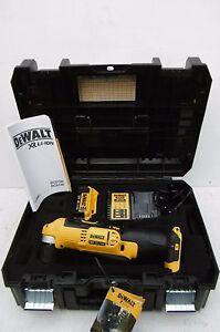 DEWALT 18V XR DCD740 RIGHT ANGLE DRILL KIT 1 X 4 AH LI-ION BATTERY + TSTAK CASE