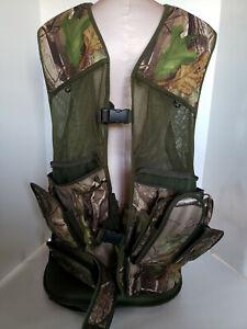 Brillant Primo Vert Camouflage Chasse Camping Pêche Gilet Coussin Taille L Xl Homme-afficher Le Titre D'origine à Tout Prix