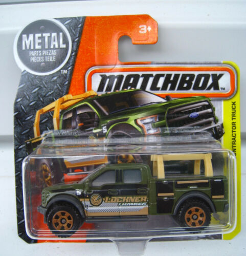 Ford f-150 contractor Truck Matchbox 47//125 escala 1:64 OVP nuevo