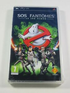 SOS FANTOMES (GHOSTBUSTERS) - LE JEU VIDEO - PSP FR NEUF - BRAND NEW (NON OFFICI