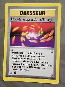 Pokemon-79-102-Super-Energy-Removal-FRENCH-1st-Edition-Base-Set-Rare-LP