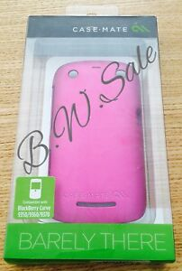 Blackberry-Curve-9350-9360-9370-Phone-Cover-Case-Barely-There-by-Case-Mate-Pink