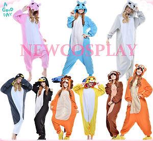 Halloween Adult Anime Unisex Cartoon Pyjamas Cosplay Costume