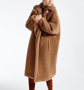 et 2018 alpaga luxe long de femmes en fourrure sentez fausse laine pour un peluche Ours en en manteau paqw4zZ