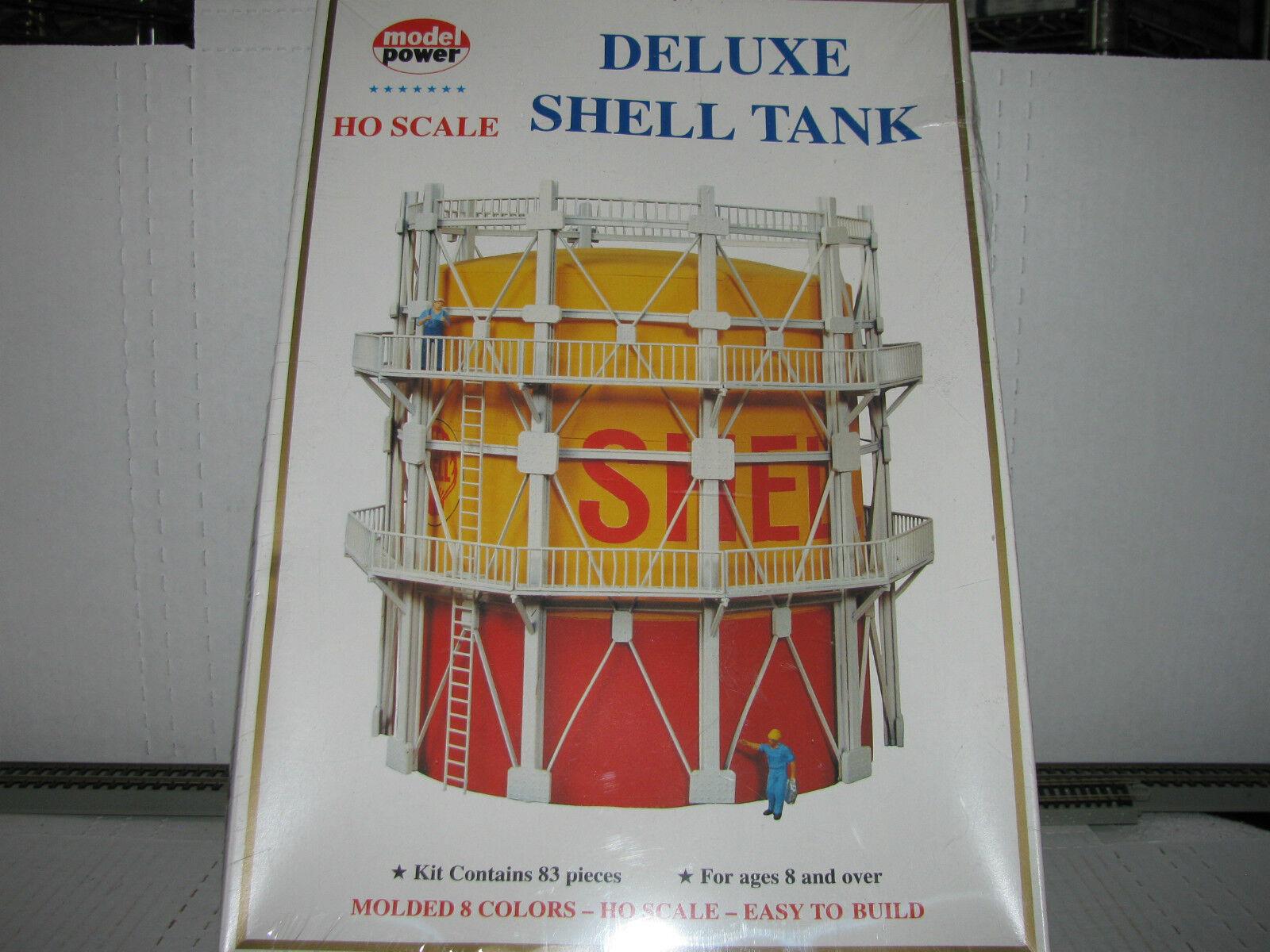 Model Power HO scale Deluxe Shell Tank Kit