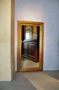 barock wandspiegel zierspiegel goldspiegel 61x 180 cm gold elegant stilvoll neu ebay. Black Bedroom Furniture Sets. Home Design Ideas