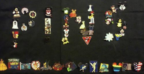 Disney Trading Pin 25 lot HM-RACK-LE-CAST no duplicates Fastest Shipper in USA