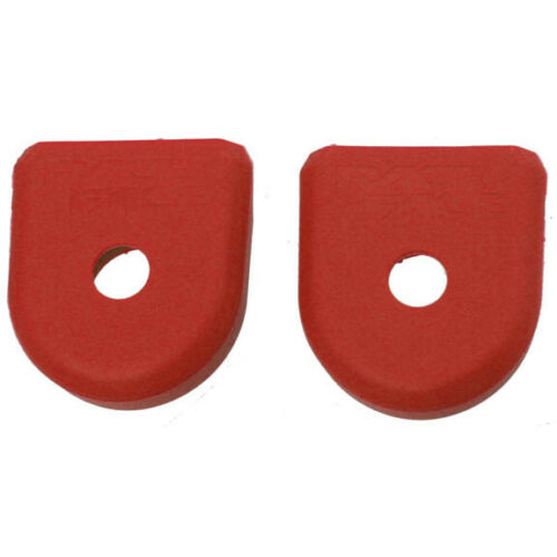 RaceFace Crank Boots For Alloy Cranks 2-Pack Red