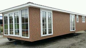 mobilheim 3fach glas winterfest wohnwagen baucontainer container wohnmobil haus ebay. Black Bedroom Furniture Sets. Home Design Ideas