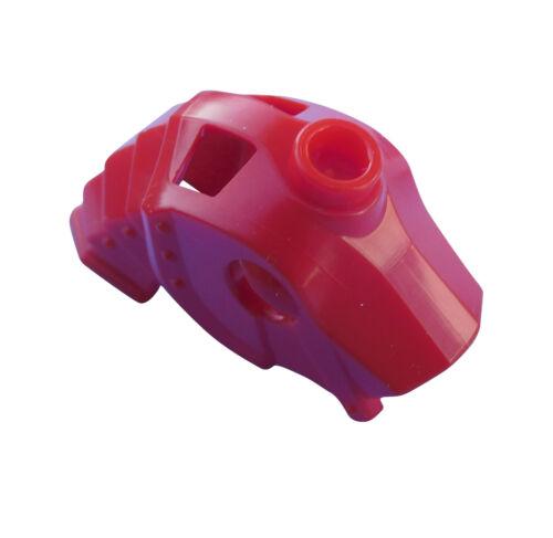 Lego Pferdekampfhelm en Rouge Chevaux Casque avec Halsplatten Neuf 13745