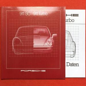 PORSCHE-911-SC-911-Turbo-1981-prospekt-brochure-catalogue-36-4-Seiten