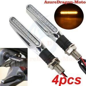 4x-Flowing-Universal-Motorcycle-Motorbike-LED-Turn-Signal-Indicator-Light-Amber