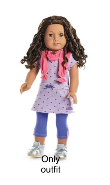Shoes NEW! NIB American Girl Recess Ready Dress Outfit with Leggings Scarf