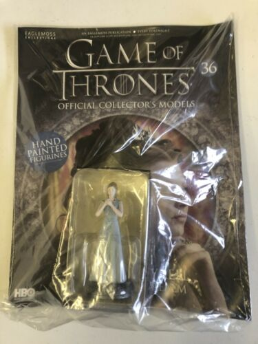 Eaglemoss Game Of Thrones Margaery Tyrell Figure And Magazine # 36 New Seale