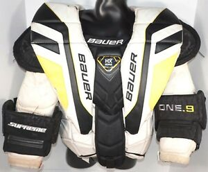 Bauer One 9 Intermediate Large Goalie Chest Arm Pad Protector Ice