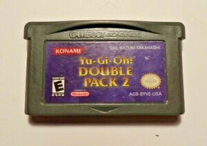 Nintendo Gameboy Advance YU GI OH DOUBLE PACK 2 No Manual - Has Box - Tested