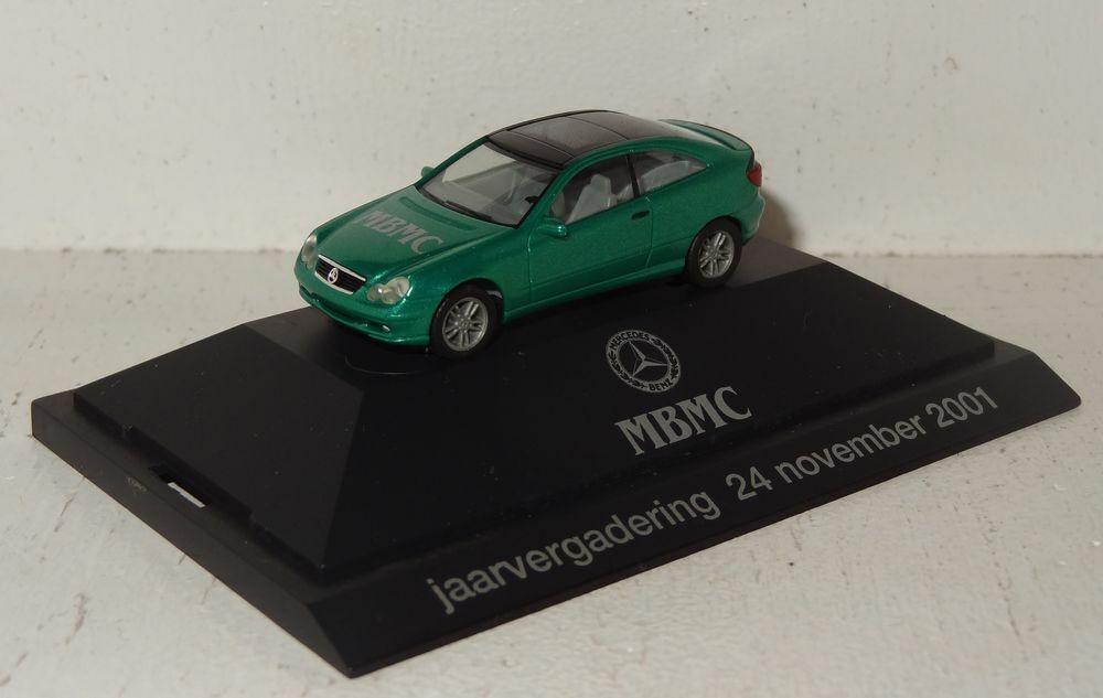 Herpa MB Coupe MBMC HOLLAND Jahrestreffen 2001 in PC 1 87 (R2_3_13)  | Produktqualität