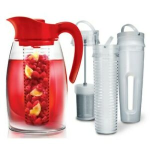 Primula-Beverage-System-Flavor-Infuse-Brew-Chill-Shatterproof-Pitcher-BPA-Free