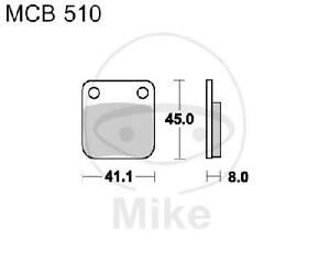 TRW Lucas Bremsbeläge MCB510 vorne Yamaha YFM 250 XP Bear Tracker