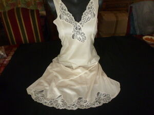 Women's Clothing Clothing, Shoes & Accessories Practical Jolie Combinaison & Fond De Robe Vintage Jolie Dentelle T42 Fait 40 Ref 30v1