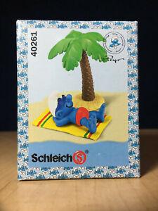 Smurfs-40261-Beach-Holiday-Smurf-Sunbathing-Figure-Vintage-PVC-Toy-Figurine-Peyo