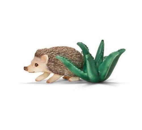 Animals Schleich Figurine 14676 the Hedgehog a Belly White New