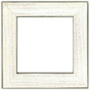 Mill-Hill-Antique-White-Wood-Frame-6-034-x-6-034-GBFRM10-New