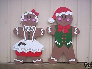 image is loading gingerbread sweeties christmas yard art decoration - Gingerbread Christmas Yard Decorations