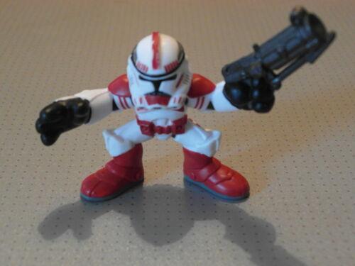 GMT09 Loose Galactic Heroes Clone Trooper Red Figure Star Wars New