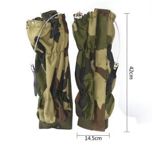 Camo-High-Legging-Gaiters-Hiking-Climbing-Hunting-Snow-Waterproof-Adjustable