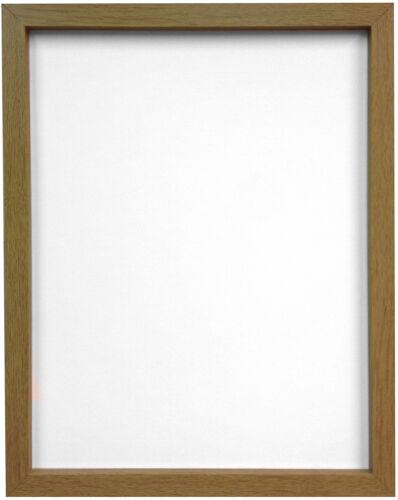 Noir Blanc Argent Chêne Hêtre 18mm de large x 25 mm de profondeur cadre photo mdf Rio