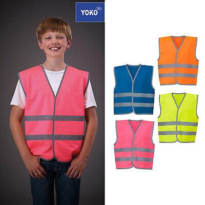 Yoko Hi-VIS Childrens//Kids Reflective Border Waistcoat