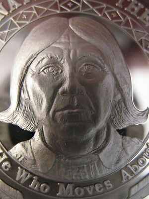 7//8-OZ KICKAPOO TRIBAL AMERICAN INDIAN NATIVE NATIONS ART COIN SILVER.999+GOLD