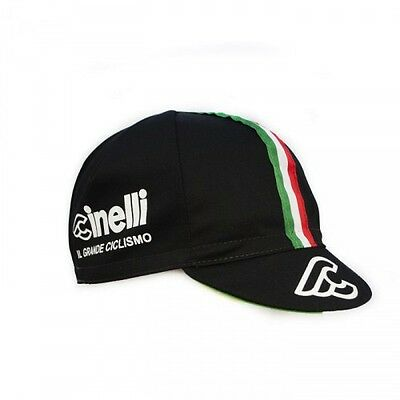 Cinelli Il Grande Ciclismo Italian Cycling Bike Cap - Fixed Gear - Made In Italy 100% Hoogwaardige Materialen