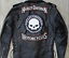 thumbnail 2 - HARLEY ROCKERS WILLIE G. SKULL Motorcycle Jacket Vest BACK PATCH large 3pc. Set