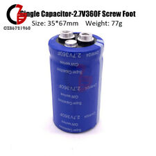 27 360f Farad Capacitor Super Capacitor With Screw Foot Frequency 166 3400f