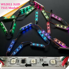 20PCS WS2811 5050 RGB 3LED LED Module String Light Super Bright Waterproof 12V