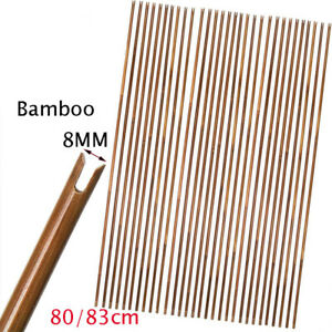 "32"" High Quality Bamboo Arrows Shafts Handmade Target Bow DIY Archery Hunting"
