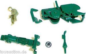 Trattore-Lanz-Bulldog-Kit-di-costruzione-WIKING-unverklebt-senza-ruote-ASSI-H0