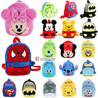 Kids Boys Girls Cartoon Animal School Bag Backpack Shoulder Rucksack Book Bags