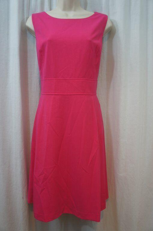 Nine West Dress Sz 14 Urban Oasis Candy Rosa Sleeveless Business Dinner Dress